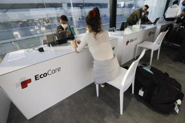 Brussels Airport: 'Sinds 14 september al meer dan 7.000 coronatests uitgevoerd'