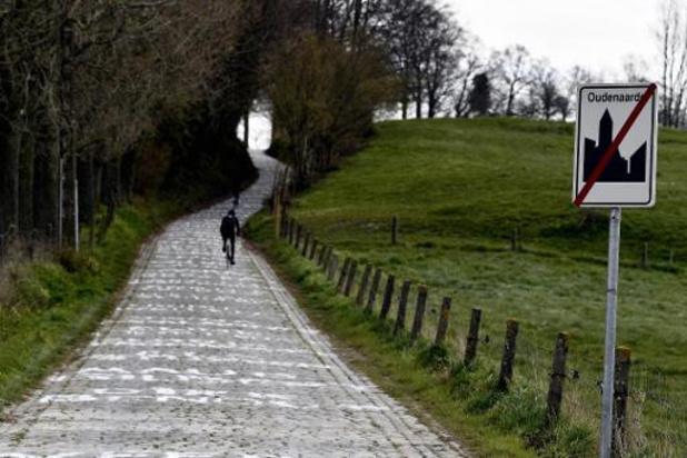Geen hellingen afgesloten, weinig wielertoeristen op pad
