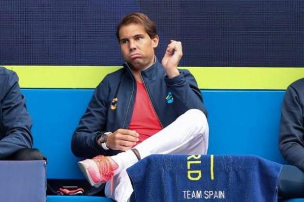 Nadal forfait pour son match de reprise à l'ATP Cup