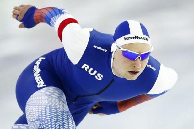 WK schaatsen - Pavel Kulizhnikov klasse apart op 1.000 meter, Vosté achttiende