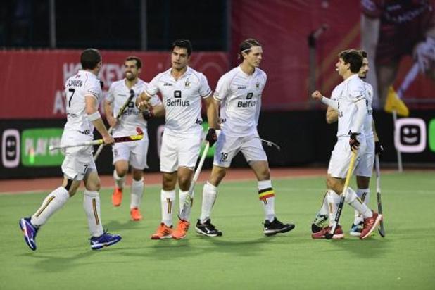 Hockey Pro League (m) - Les Red Lions s'imposent sur le fil 3-2 dans leur 1er duel contre la Grande-Bretagne