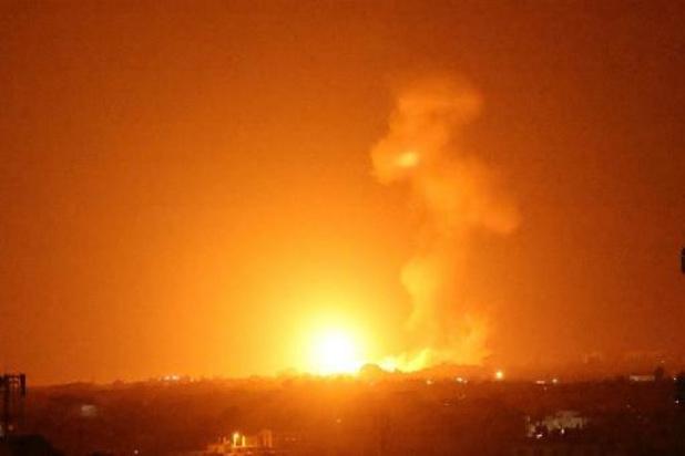 Conflit israélo-palestinien - Frappes aériennes israéliennes sur Gaza après des lancers de ballons incendiaires