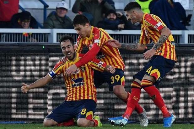 Serie A - Lecce relégué en Serie B après une saison parmi l'élite
