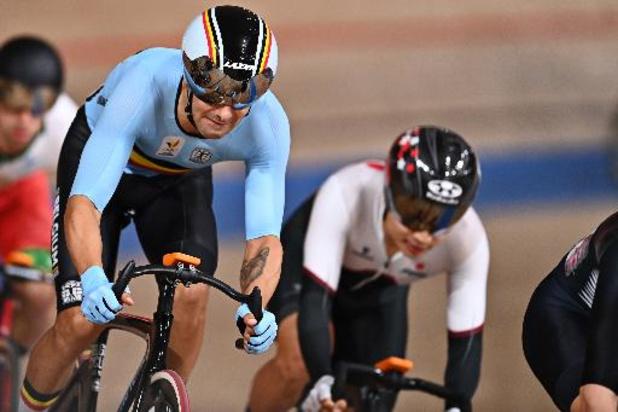 Cyclisme sur piste: Kenny de Ketele 10e de la course éliminatoire et du général en Omnium