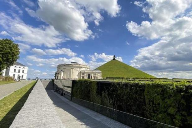 Réouverture du site historique de Waterloo le week-end prochain