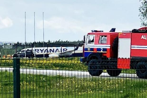 Crisis Wit-Rusland - Belg aan boord van Ryanair-vliegtuig dat in Minsk moest landen