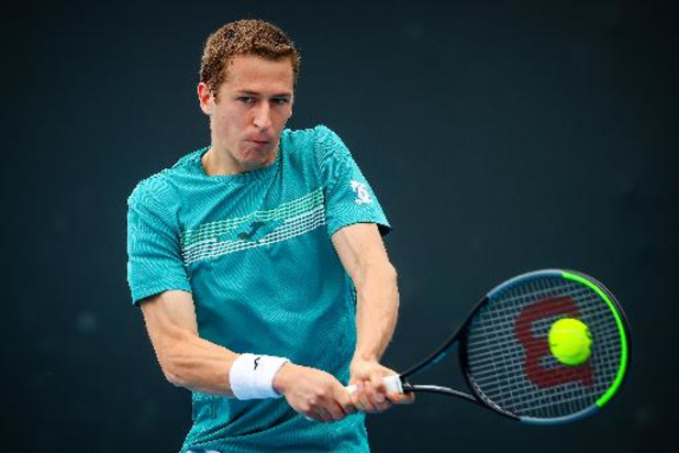 Kimmer Coppejans sort en trois sets Bernard Tomic, ancien 17e mondial
