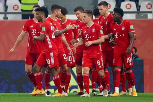 Le Bayern Munich bat Tigres et prolonge la suprématie européenne