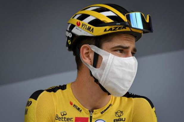 Wout Van Aert over incident met Peter Sagan: 'Allebei terecht beboet, maar hij maakt fout'