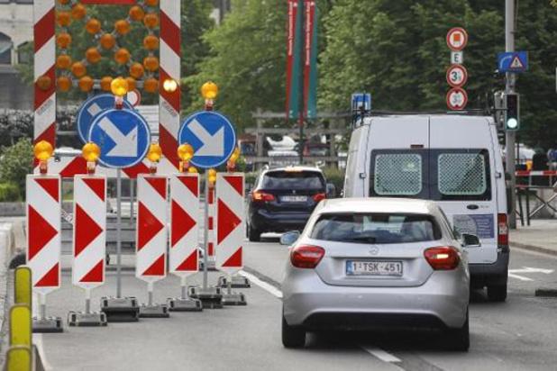 Le tunnel Léopold II à Bruxelles rouvrira lundi matin à 06h00