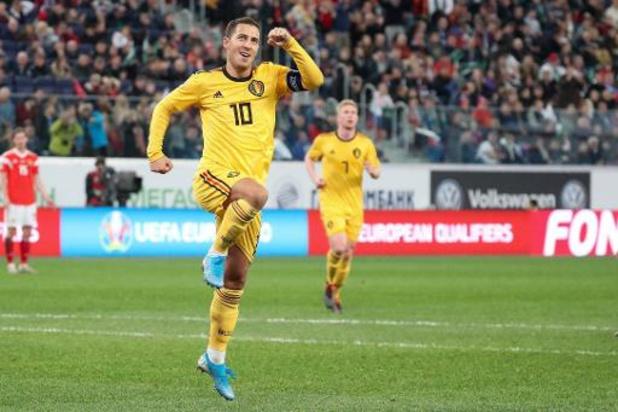 Rode Duivels - Belgische voetbalfans verkiezen Eden Hazard tot Ultiem Icoon van de voorbije 125 jaar