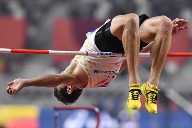 Mondiaux d'athlétisme - Troisième de la hauteur, Thomas Van der Plaetsen est 17e après quatre épreuves