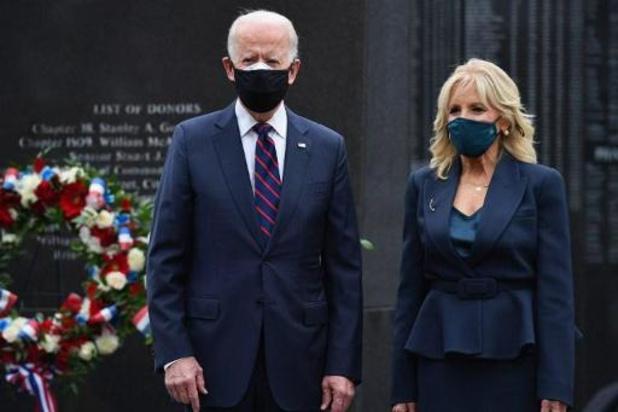 Trump en Biden wonen afzonderlijk veteranendag bij