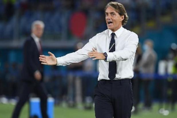 """Euro 2020 - L'Italie """"a obligé la Suisse à faire des erreurs"""", analyse Mancini"""
