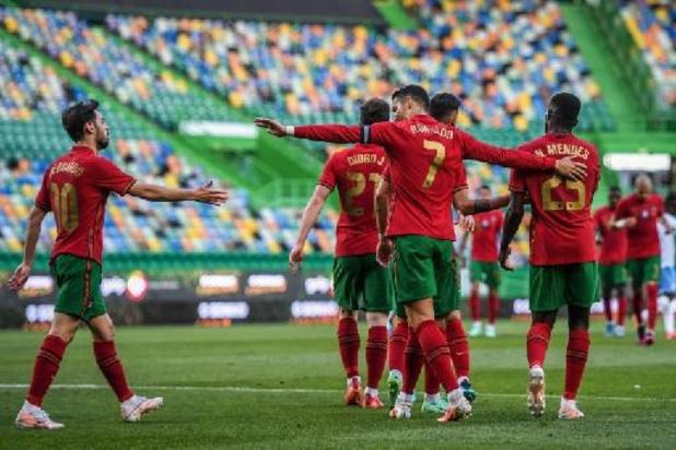 EK 2020 - Titelverdediger Portugal vlot voorbij Israël