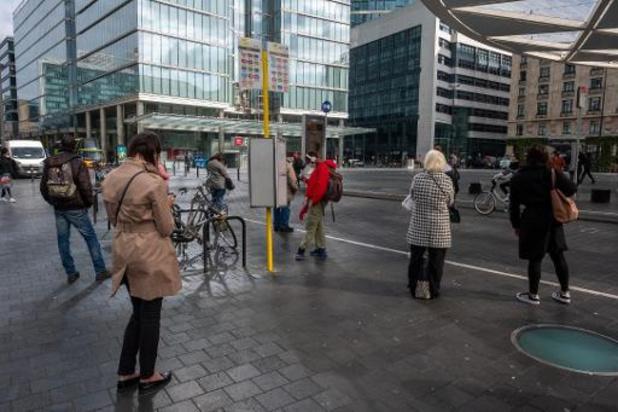 Staking De Lijn - Vier op de tien chauffeurs aan het werk, meeste hinder op stads- en tramnetten