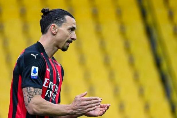 Serie A - Ibrahimovic (39) doet er nog een seizoen bij in Milaan