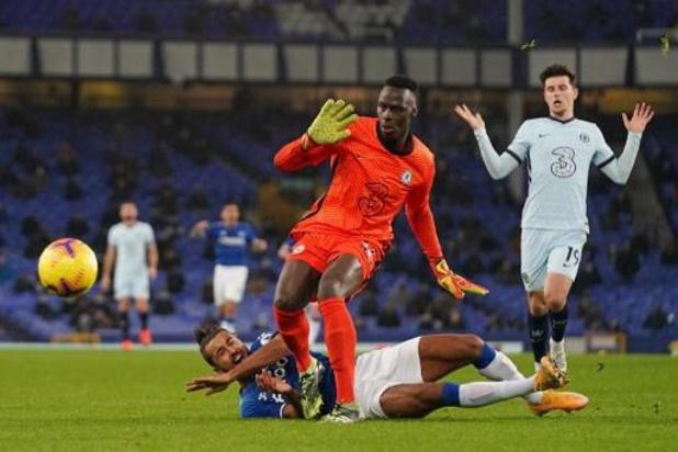 Premier League - Coup d'arrêt pour Chelsea, battu à Everton