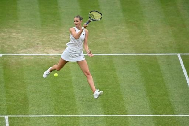 Karolina Pliskova s'impose face à Viktorija Golubic et passe en demi-finale