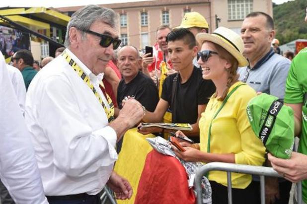 Eddy Merckx hospitalisé à la suite d'une chute