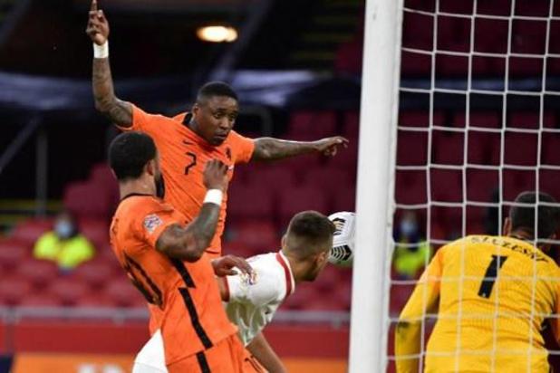 Nations League - Nederland wint zuinig van Polen, Italië morst met punten tegen Bosnië-Herzegovina