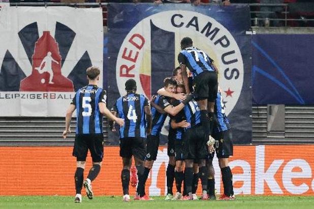 Ligue des Champions - Exploit du Club Bruges, vainqueur à Leipzig et en tête du groupe avec le PSG