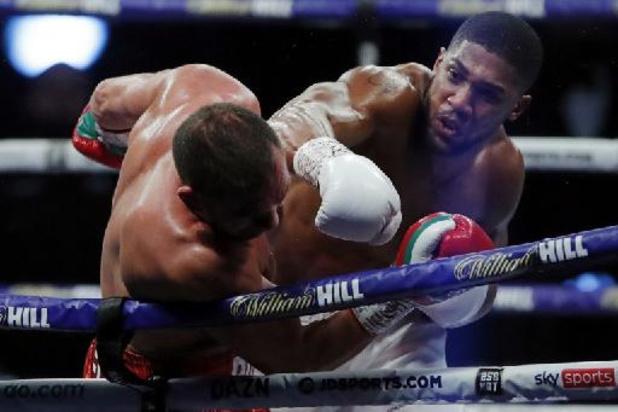 Boxe: Joshua face à l'Ukrainien Usyk en septembre dans le stade de Tottenham à Londres