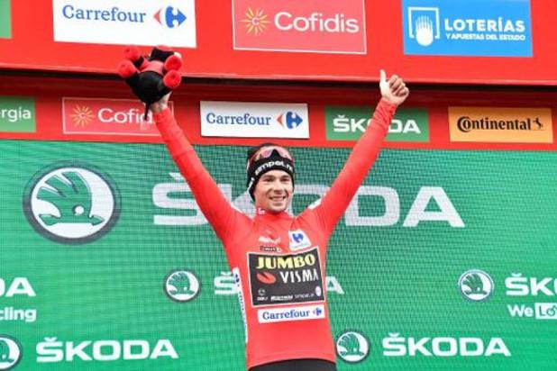 """Tour d'Espagne - Primoz Roglic, premier vainqueur Slovène de la Vuelta dimanche: """"je suis soulagé"""""""