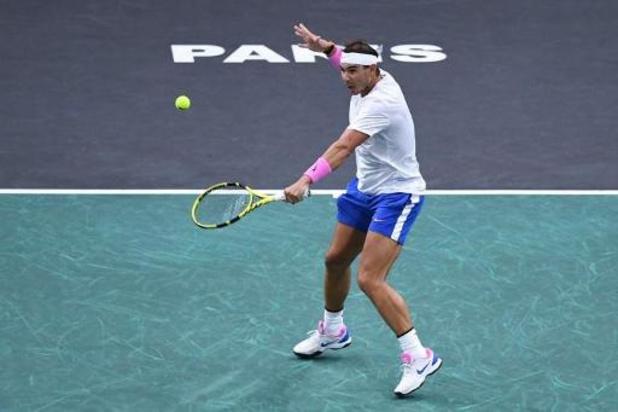 Nadal donne rendez-vous au Masters 1000 de Paris