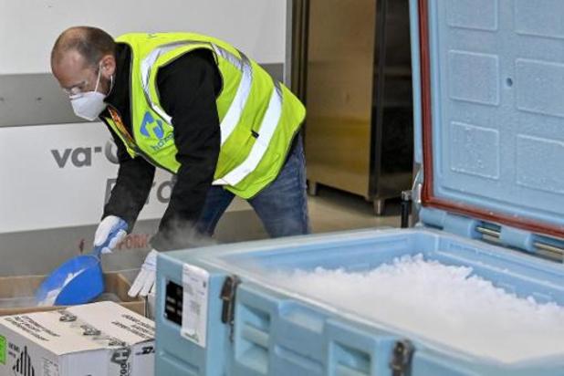 Honderdtal vluchten met vaccins vertrokken uit Brussels Airport sinds november