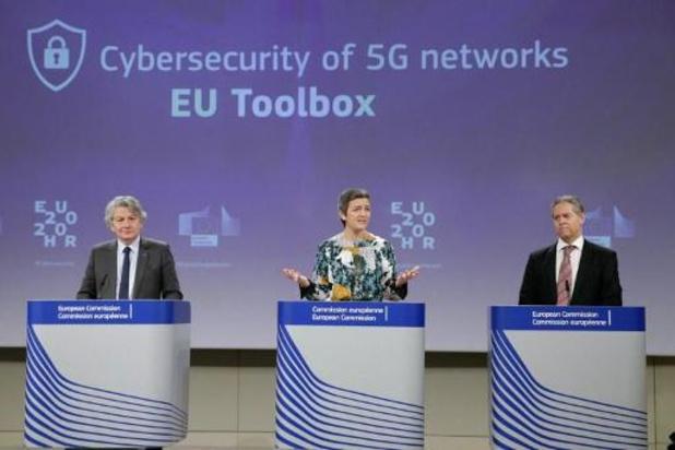 """Déploiement de la 5G: Huawei """"salue"""" la décision de l'UE"""