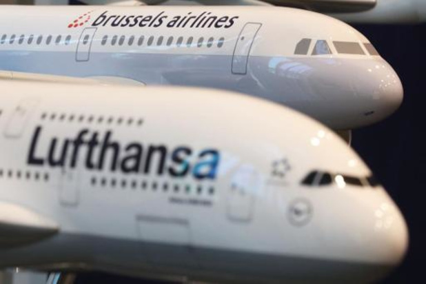 Lufthansa cherche 4.500 travailleurs; gel des embauches chez Brussels Airlines