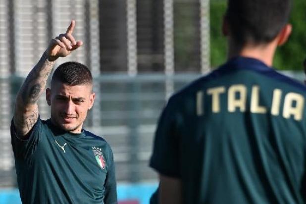 EK 2020 - Verratti in de basis bij Italië op slotspeeldag tegen Wales