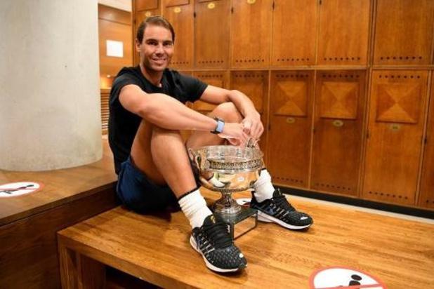 Roland-Garros - Rafael Nadal et Roger Federer côte à côte au panthéon du tennis avec 20 sacres majeurs