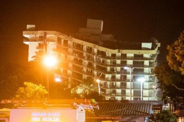 Dodentol ingestort gebouw Miami loopt op tot 32