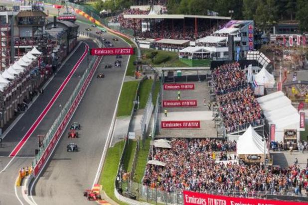 """Coronavirus - Organisator van Belgische GP Formule 1 """"sluit geen enkel scenario uit"""""""
