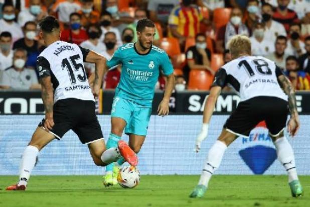Les Belges à l'étranger - Le Real et ses deux Belges l'emportent à Valence, Saelemaekers et Milan en tête de Serie A