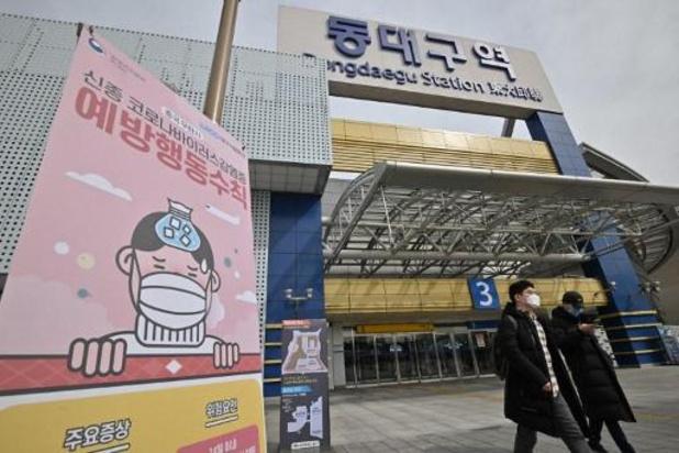 Zeventig nieuwe besmettingen in Zuid-Korea, Noord-Korea zet buitenlanders in quarantaine