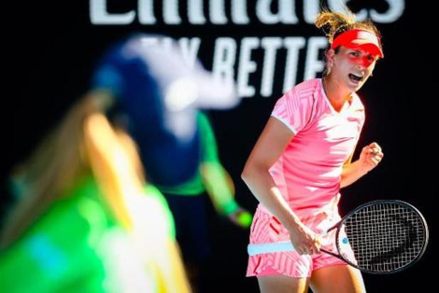 Elise Mertens heureuse d'avoir ponctué un parcours compliqué en double