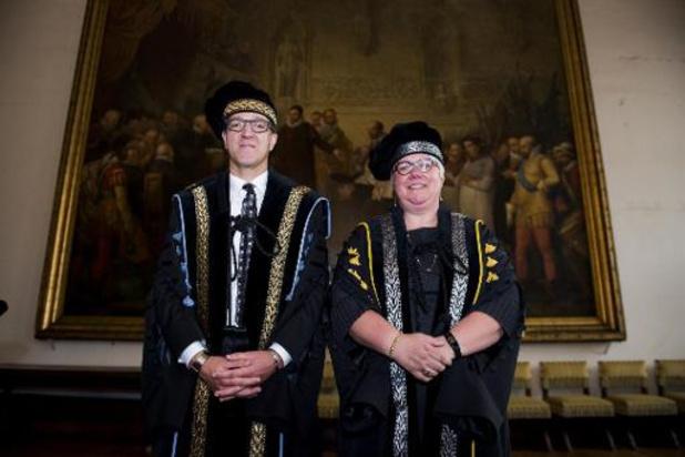 Rik Van de Walle en Mieke Van Herreweghe herkozen als rector en vicerector UGent
