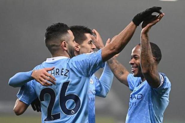 Premier League - Manchester City, sans De Bruyne, se promène à West Bromwich Albion et prend la tête