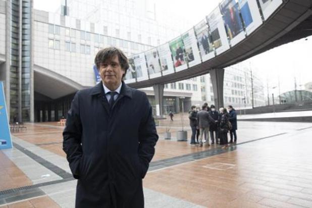 Suspension de la levée d'immunité parlementaire pour Puigdemont, Comín et Ponsatí