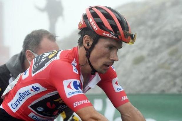 """Tour d'Espagne: Primoz Roglic est """"content d'avoir passé la haute montagne"""""""