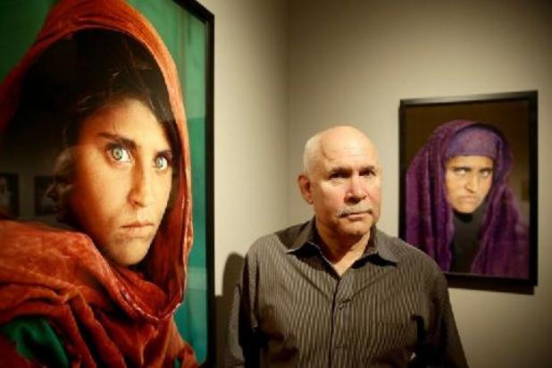 """Steve McCurry, l'un des maîtres de la photographie de presse, expose """"son monde"""" à Anvers"""
