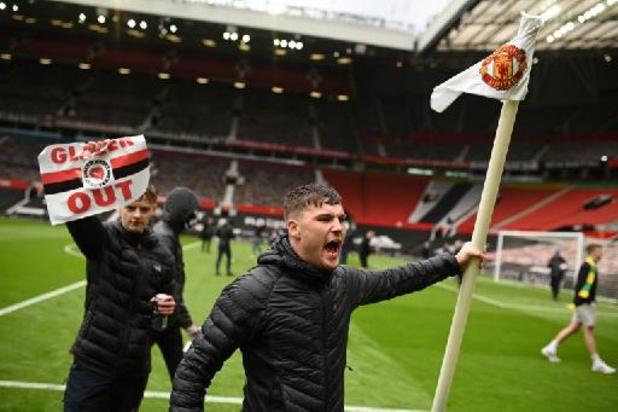 Manchester United-Liverpool reporté après l'envahissement du terrain par des supporters