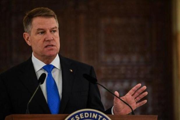 Roumanie: le président sortant Klaus Iohannis réélu