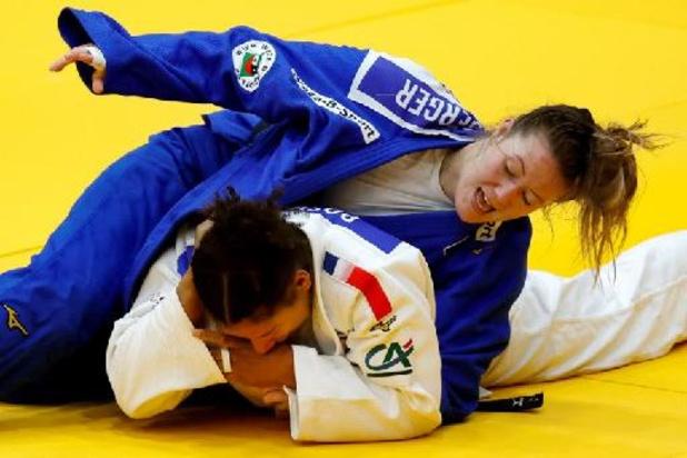 Grand Prix judo Zagreb - Sophie Berger moet brons aan Duitse laten op GP Zagreb