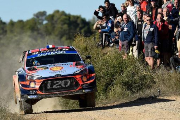 Loeb prend la tête au Rallye de Catalogne, Neuville reste 2e, Tänak est 5e