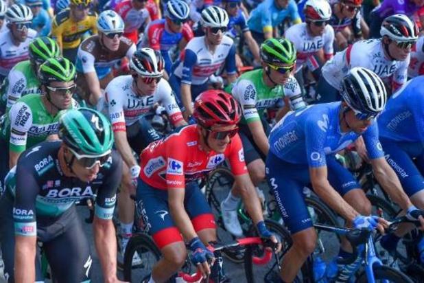 Start van elfde etappe Vuelta loopt vertraging op na rennersprotest