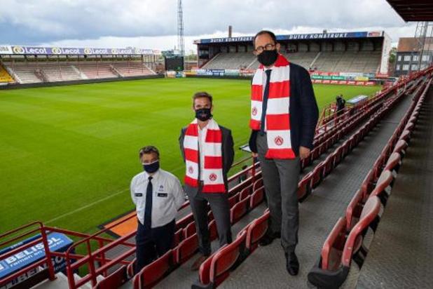 Le KV Courtrai face à Mouscron avec près de 3.000 fans dans les tribunes le 13 septembre